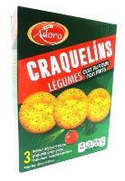 CB09 : Craquelins Legumes