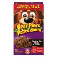 CB388 : Pattes D'ours Pep. Choc.