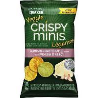 CG2463 : Veggie Crispy Minis Parmesan & Ail Rôti