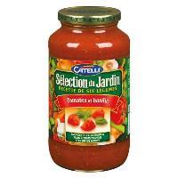 CH0016 : Sauce Tomates & Basilic